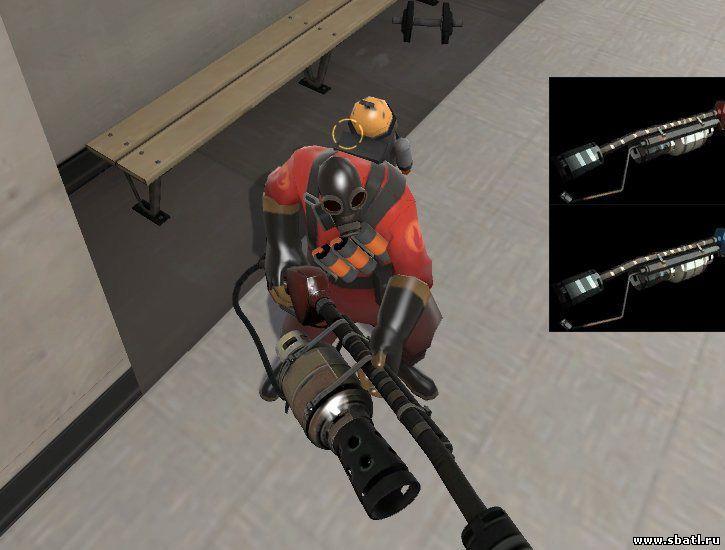 Team fortress 2 моды на оружие скачать